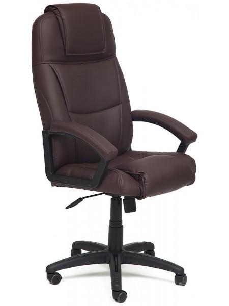 Кресло BERGAMO кож/зам, коричневый, 36-36