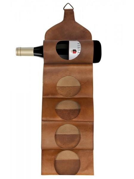 Бутылочница BANDOLEER ( mod. 501 ) кожа буйвола