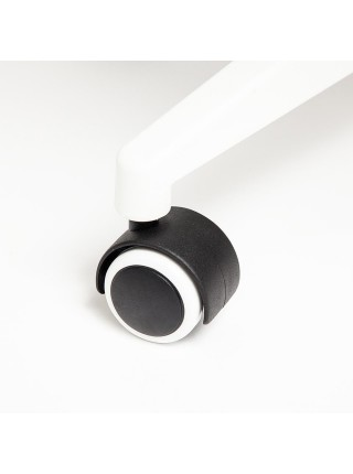 Кресло GRACE белый, ткань, т.-серый, 60