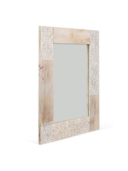 Зеркало Secret de Maison Caraibo (mod. 1822) дерево манго, 80х100х3см, натуральный/white wash