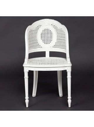 Кресло Secret De Maison ROMA (mod. CHA-96) красное дерево/ротанг, 50х52х86,5см, butter white