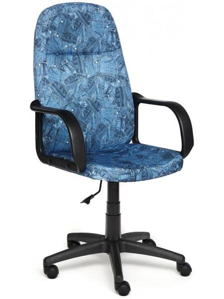 """Кресло LEADER ткань, принт """"Джинса"""""""