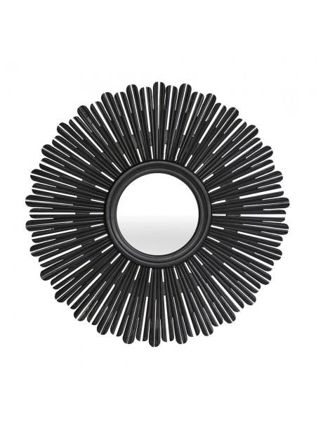 Зеркало Secret De Maison ACADEMY дерево манго, D90х3см, Black (черный)