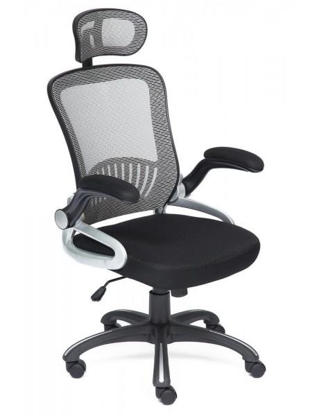 Кресло MESH-2 ткань, черный/серый