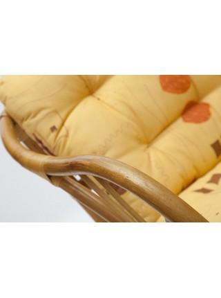 "КОМПЛЕКТ "" NEW BOGOTA "" ( диван + 2 кресла + стол со стеклом ) ротанг, кр:61х67х78,5см, дв:108х66х78,5см, ст:D60х56,5см, Honey (мед)"