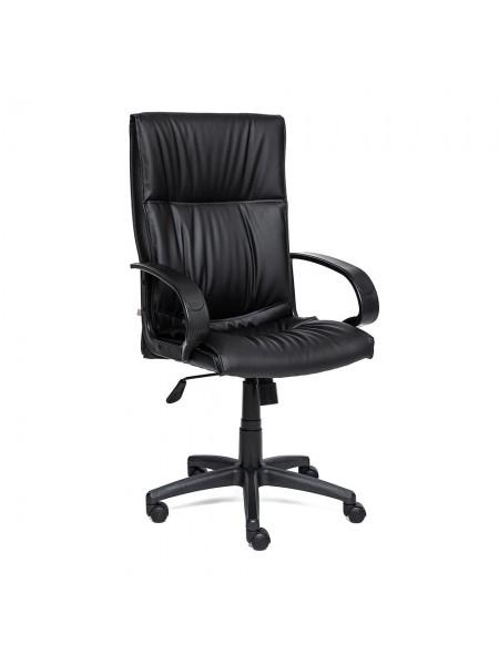 Кресло DAVOS кож/зам, черный, 36-6