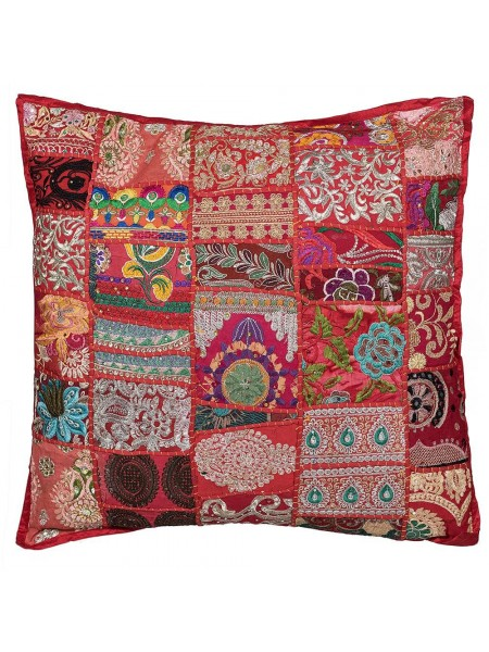 Подушка Secret De Maison GIPSY (mod. 10175) cotton patchwork, 60х60см, этнический красный