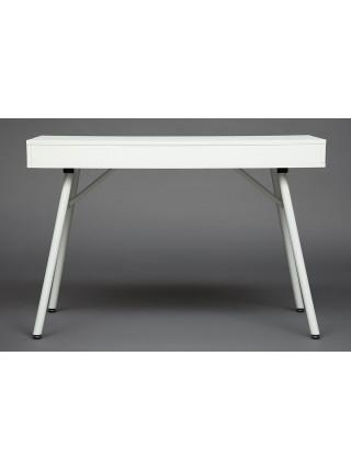 Стол WRX-12 белый ПВХ+белые ножки