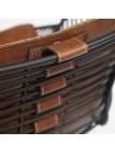 """Кресло """"Topkapi"""" (Mod.01) металл, экокожа, 62*57*75, brown (коричневый)"""