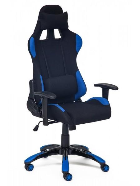 Кресло iGear ткань, черно-синий/black-navy