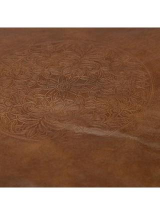 Пуф Secret De Maison SELBY ( mod. 606 ) кожа буйвола, 48 х 48 х 24, Античный светлый