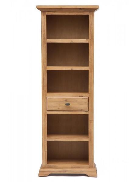 Книжный шкаф Secret De Maison AVIGNON ( mod. PRO-L01-H195 ) дерево акация, 195х70х35см, Натуральный (Brushed Ash color)