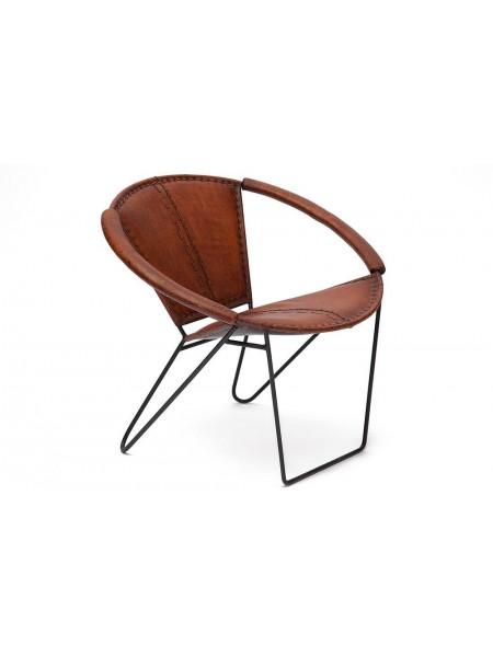 Кресло Secret De Maison NEMO ( mod. M-3240 ) кожа буйвола / металл, 71,5х79х70см, коричневый