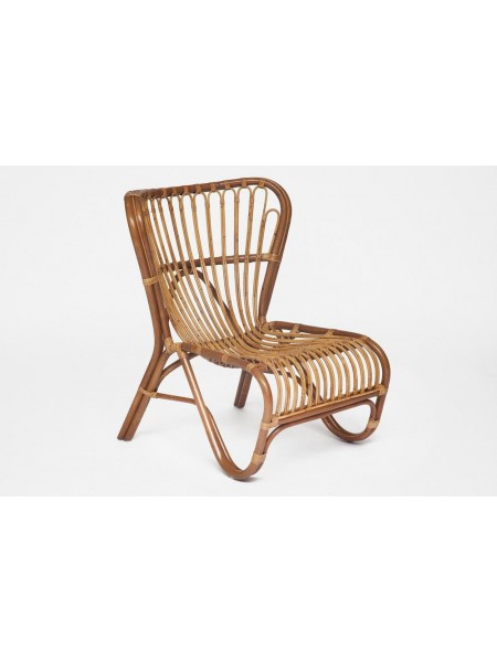 Кресло Secret De Maison Andersen Foxtrot (mod. 01 5087/1-1) натуральный ротанг, 80х64х80см, светлый мед/матовый