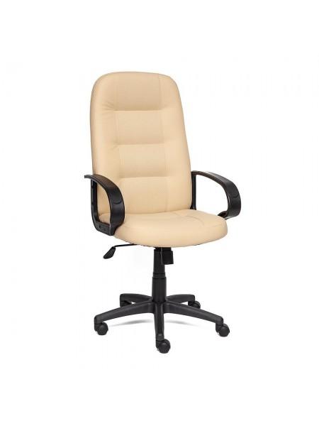 Кресло DEVON кож/зам, бежевый, 36-34