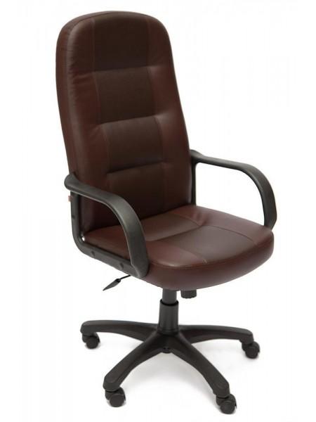 Кресло DEVON кож/зам, коричневый/коричневый перфорированный, 36-36/36-36/06