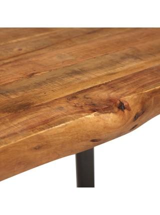 Стол обеденный Secret de Maison BAMKOPF (mod. G05371) дерево акация/метaлл, 180х90х77см, хела/металл натуральный