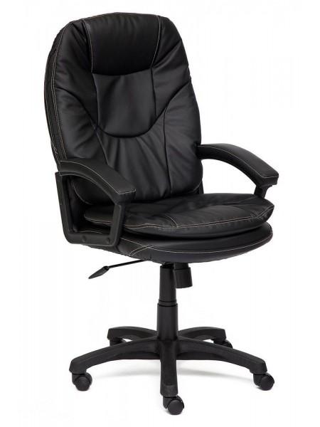 Кресло COMFORT кож/зам, Черный, PU-C36-6