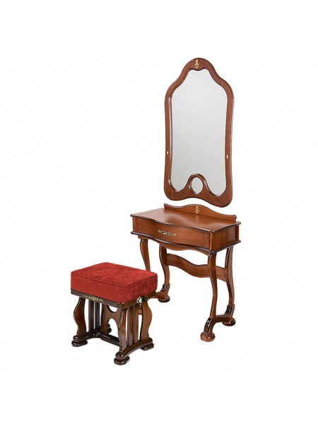 Туалетный столик Джульетта (стол,пуф,зеркало)