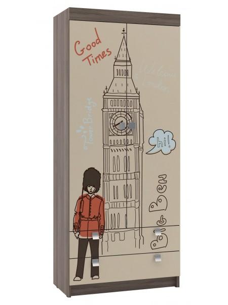 Шкаф для одежды Лондон