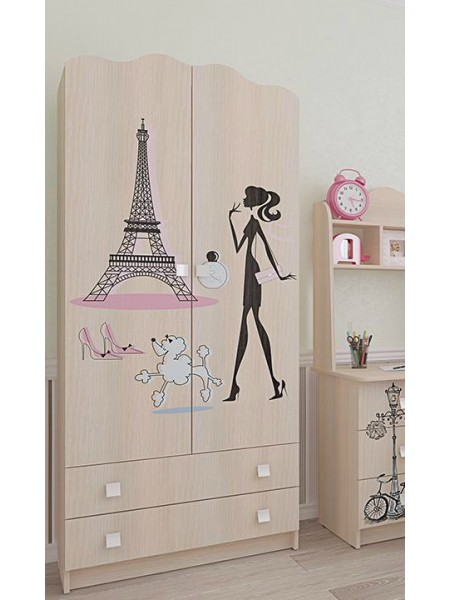 Шкаф для одежды Париж