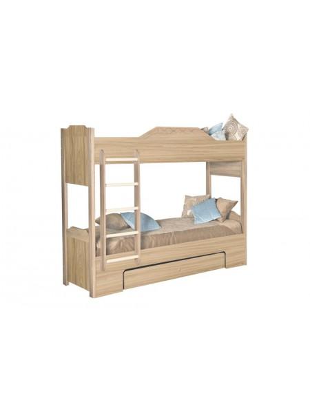 Кровать двухъярусная Леон 543