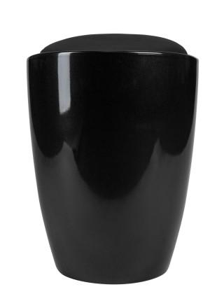Табурет кухонный 1100 пластиковый с местом для хранения черный