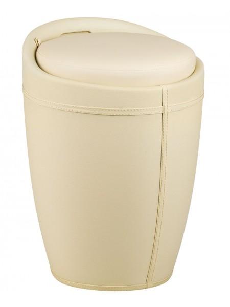 Табурет кухонный 1100 HPVC с местом для хранения кремовый