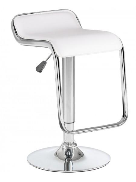 Барный стул 3021 Crack белый