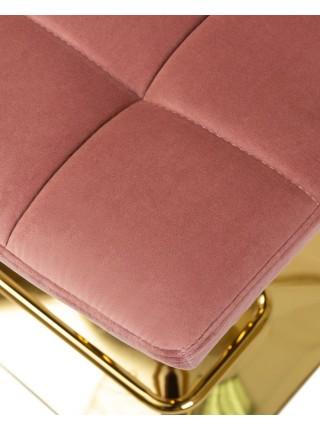Барный стул LM 5016 пудрово-розовый