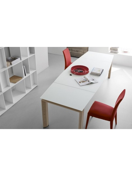 Стол MOVING CS/4075 280, GXW/ P27 natura/P94 white