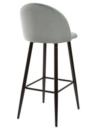 Барный стул MALIBU пудровый мятный, велюр G108-28 М-City