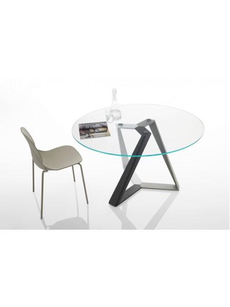 Стол MILLENNIUM (20.42) D130*75 см (MC03/C157) Bontempi