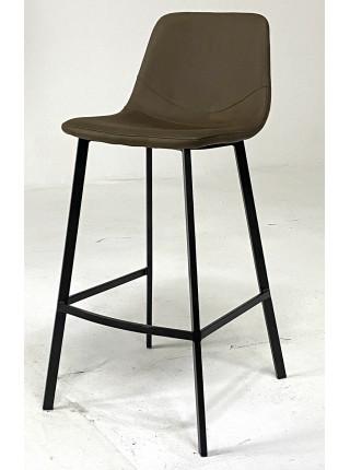 Барный стул HAMILTON коричневый, микрофибра MF-10 М-City