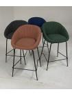 Барный стул ATLAS 9105-17 изумруд (H=65cm) М-City