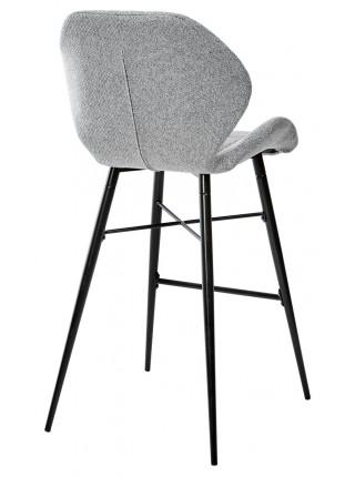 Барный стул MARCEL TRF-08 теплый серый, ткань М-City