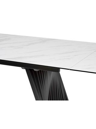 Стол IVAR 180 MARBLES KL-99 Белый мрамор, итальянская керамика М-City