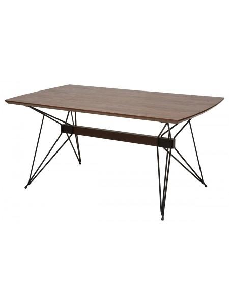 Стол ALICE 160 см орех, шпон M-city