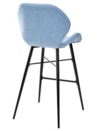 Барный стул MARCEL TRF-10 небесно-голубой, ткань М-City