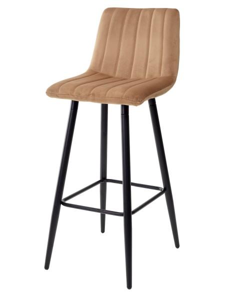 Барный стул DERRY G108-72 тоффи, велюр М-City