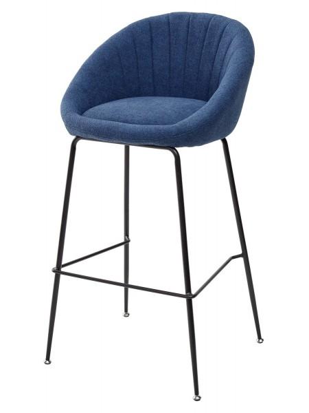 Барный стул AMEKA 9105-26 синий М-City