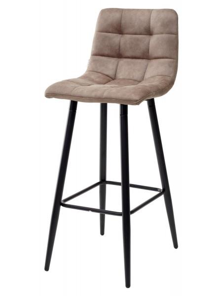 Барный стул SPICE MF-06 теплый серый, ткань микрофибра М-City