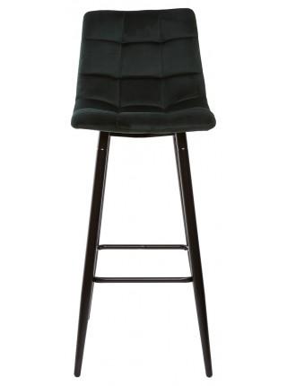 Барный стул LECCO UF910-14 DARK GREEN, велюр М-City