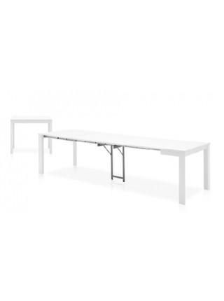 Стол EMINENCE CONSOLLE CB/4724-W 90 C, BCH.P94 MATT OPTIC WHITE/ LAM.P94 MATT OPTIC WHITE