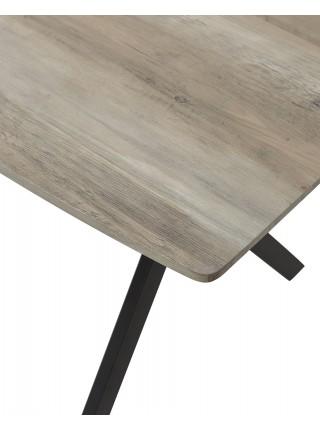 Стол CRUDE 140 серый дуб M-city
