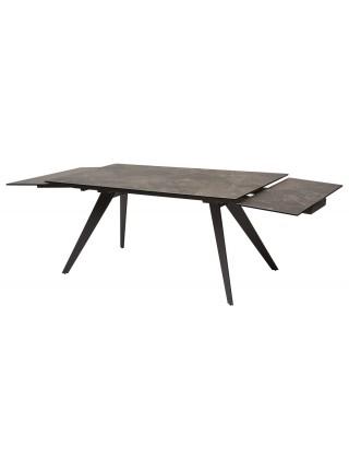 Стол ACERRA 160 KL-19 СЕРО-КОРИЧНЕВЫЙ КАМЕНЬ, итальянская керамика / Grey 1 М-City