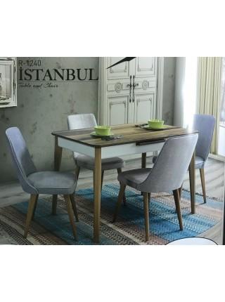 Стол ISTANBUL шпон ореха 120 см M-city