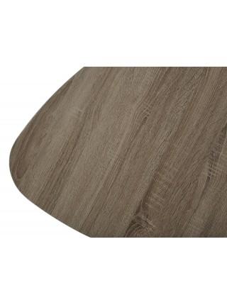 Стол журнальный WOOD 62S #4 дуб серо-коричневый винтажный M-city
