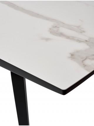 Стол DAYTON BIANCO TL-45 испанская керамика/ BLACK М-City