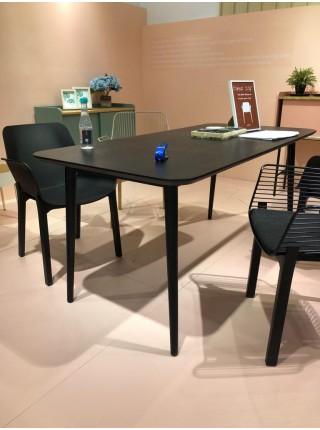 Стол AGO 160 см чёрный, шпон M-city